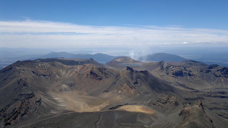 Tongariro, view from Mt Doom