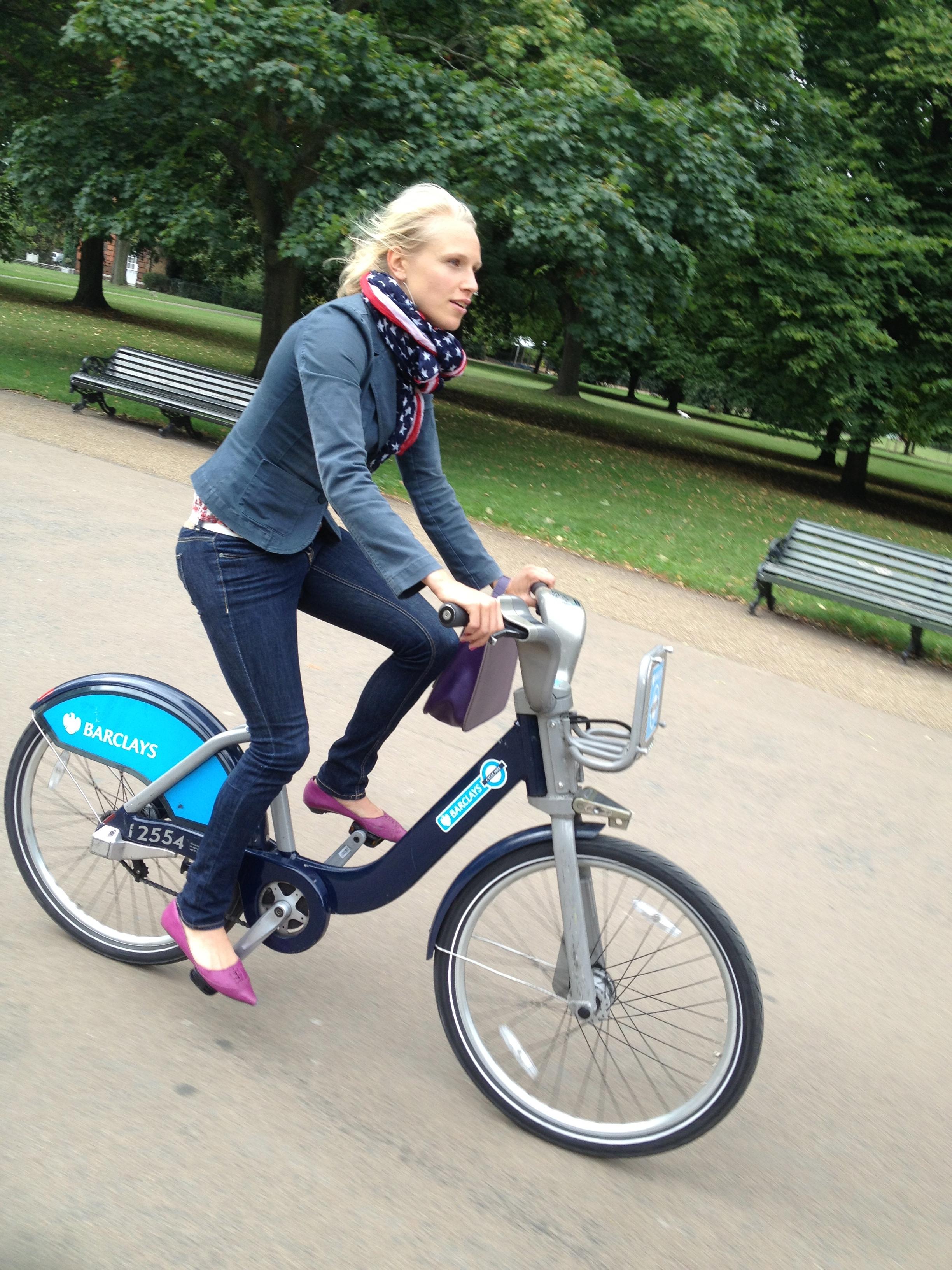 Pyörien Lontoossa / Cycling in London
