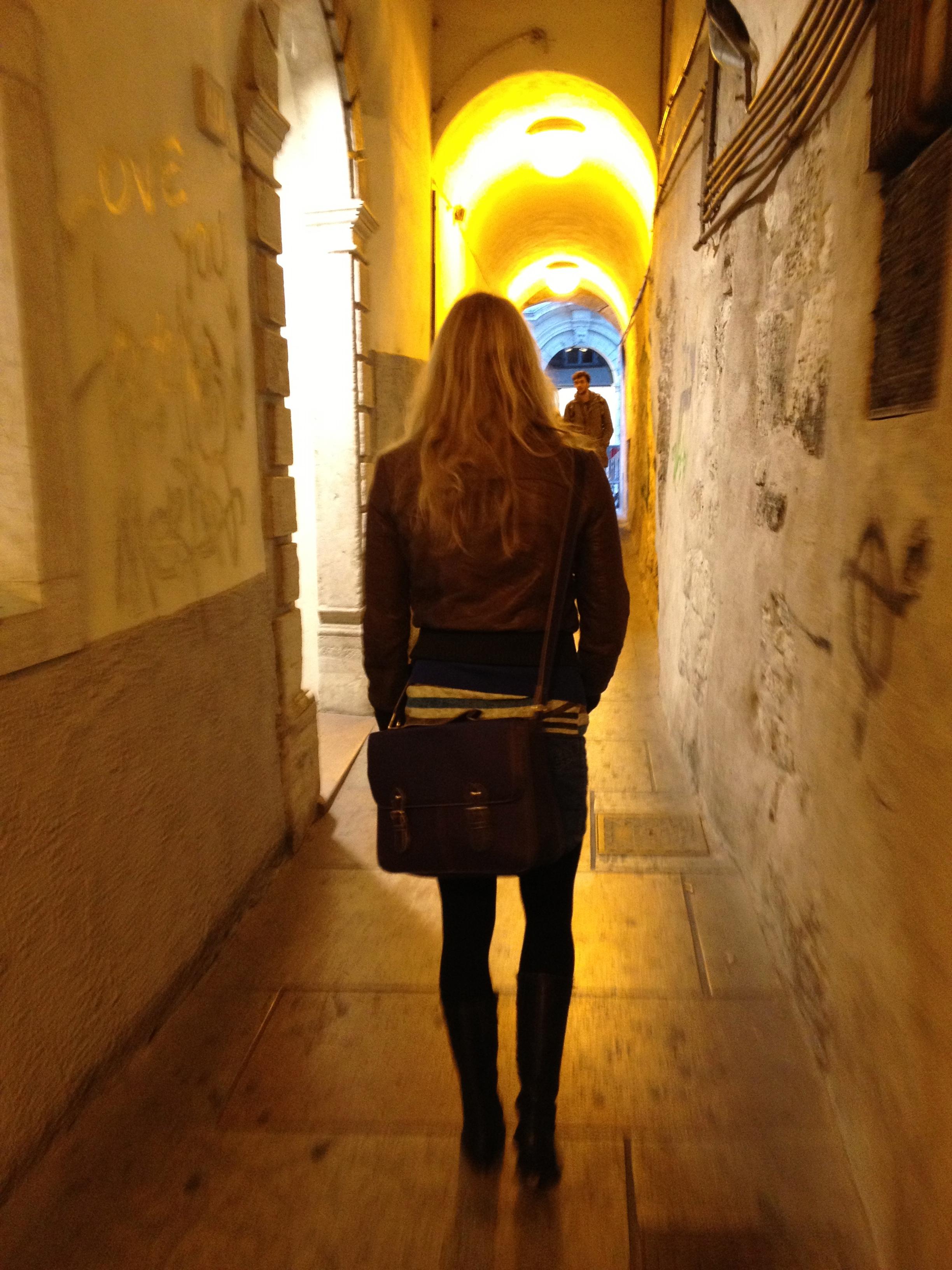 Trenton kapeilla kujilla/ The narrow streets of Trento