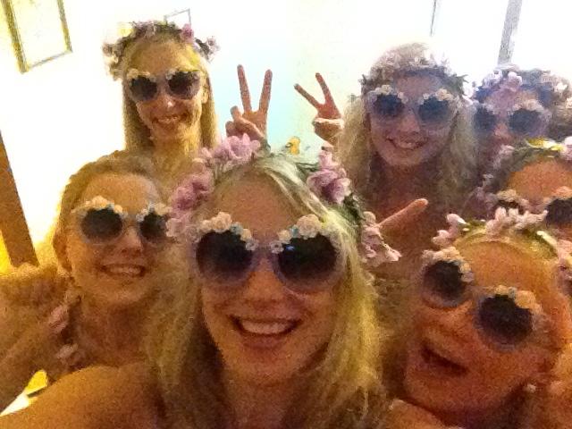 Team flower power of Finland
