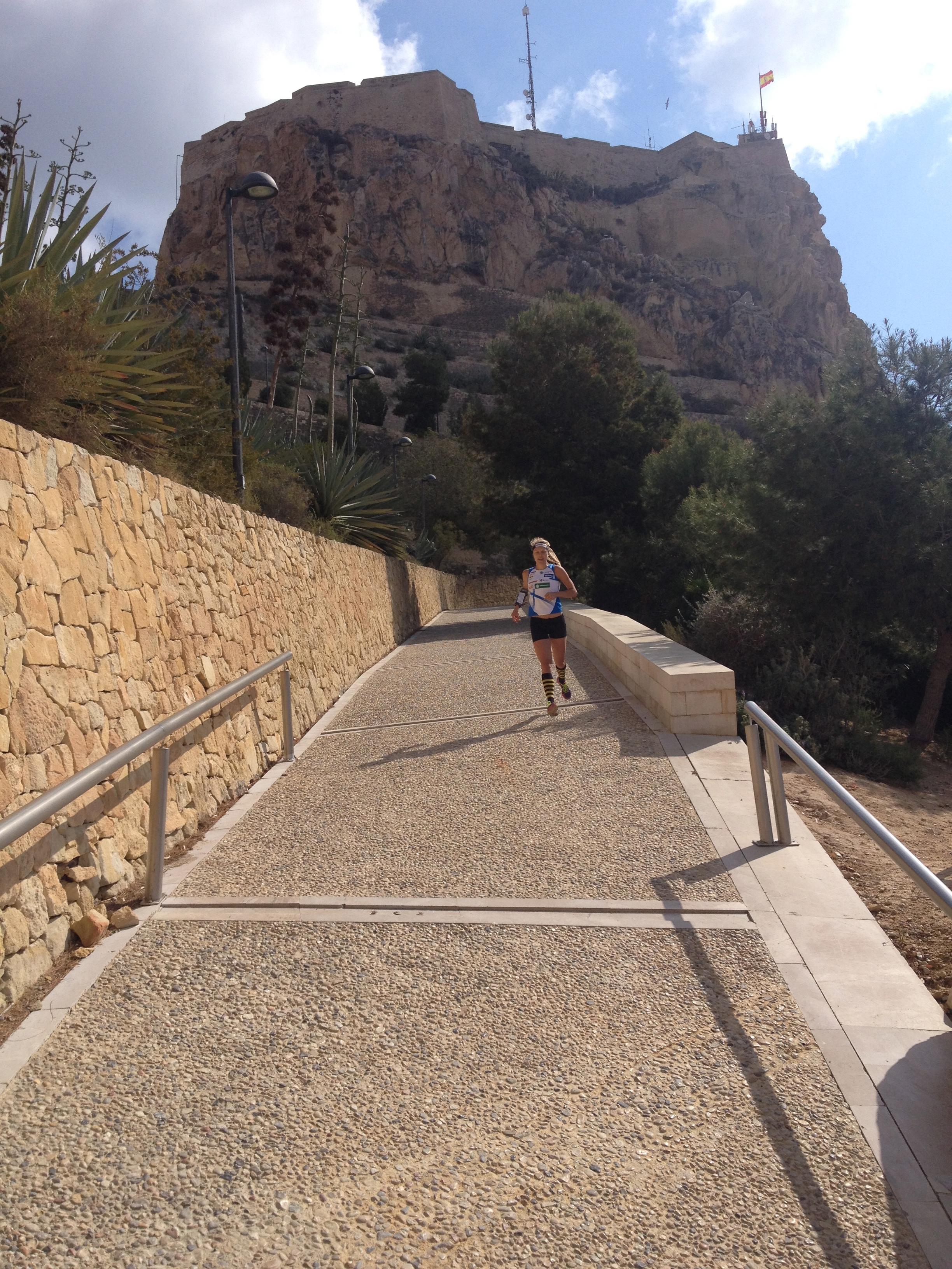 Olin muuten ihan kujalla Alicanten kujilla...